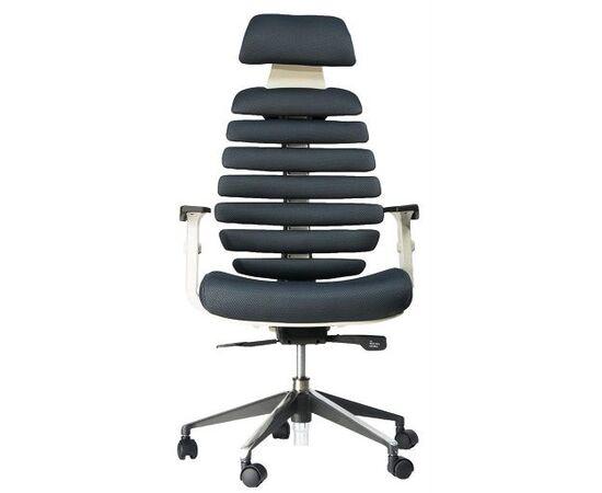 Кресло для руководителя в офис Everprof Ergo Grey ткань серый