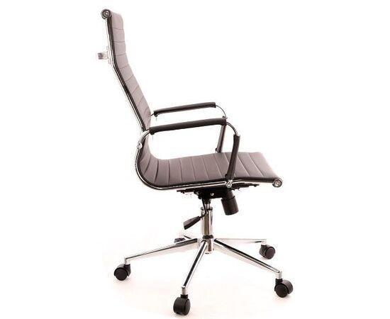 Кресло для руководителя в офис EVERPROF Rio T экокожа черный