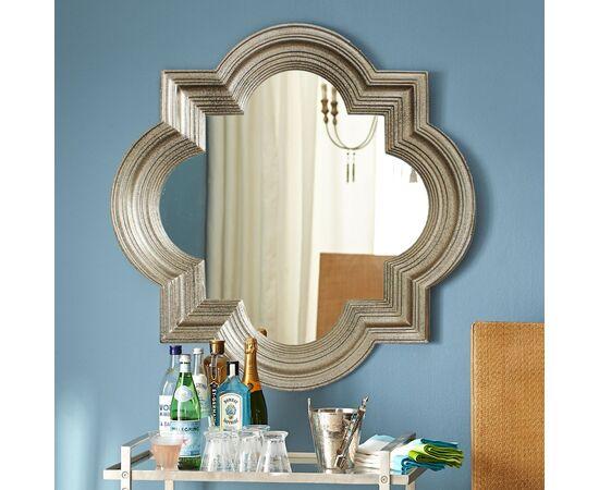 Зеркало настенное в раме Morocco Silver (Марокко)Art-zerkalo, изображение 3