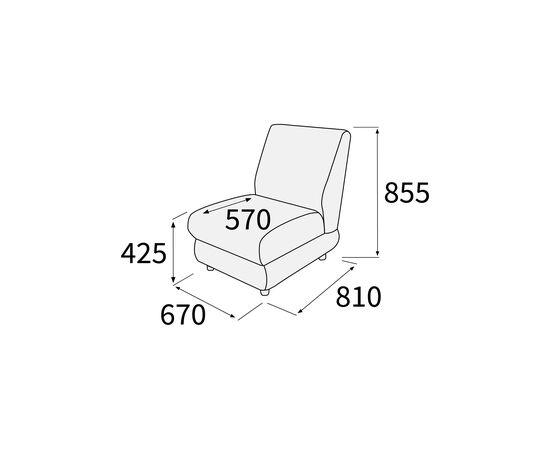 Модуль прямой Матрикс 660х810х850
