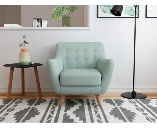Кресло мягкое Picasso бирюзовый Bradex Home, Цвет товара: Бирюзовый, изображение 2