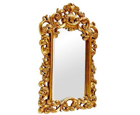 Зеркало настенное в резной раме Bogeme Gold (Богема) Art-zerkalo, изображение 2