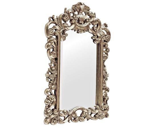 Зеркало настенное в резной раме Bogeme Silver (Богема) Art-zerkalo, изображение 2