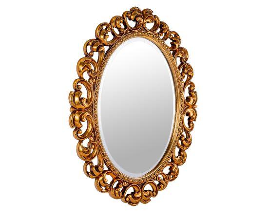 Зеркало настенное овальное в раме Daisy Gold (Дейзи )Art-zerkalo, изображение 3