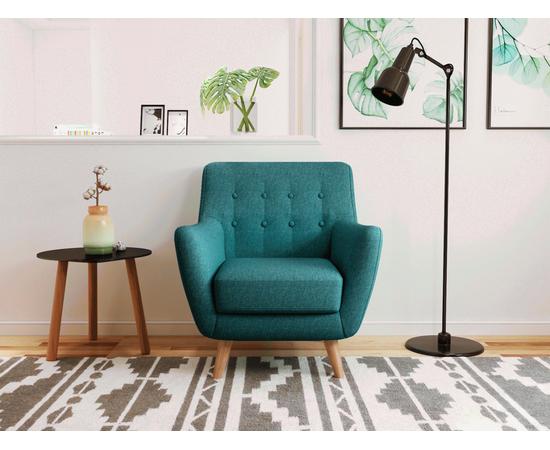 Кресло мягкое Picasso темно-бирюзовый Bradex Home, Цвет товара: темно-бирюзовый, изображение 2