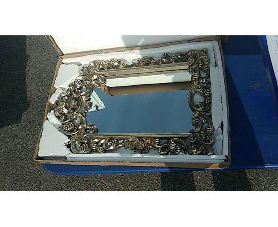 Зеркало настенное в резной раме Bogeme Silver (Богема) Art-zerkalo, изображение 3