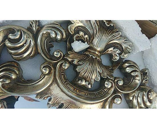 Зеркало настенное в резной раме Bogeme Silver (Богема) Art-zerkalo, изображение 5