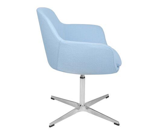 Дизайнерское кресло из кашемира A646-5 (Elegance S) светло-голубое Beonmebel, изображение 3