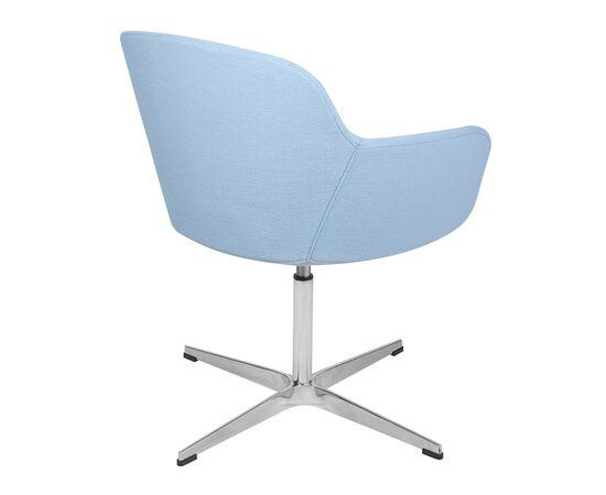 Дизайнерское кресло из кашемира A646-5 (Elegance S) светло-голубое Beonmebel, изображение 4