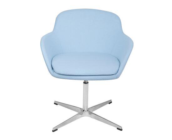 Дизайнерское кресло из кашемира A646-5 (Elegance S) светло-голубое Beonmebel, изображение 2