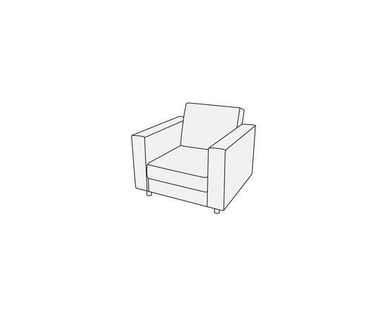 Кресло Омега Лайт 830х840х840 Alfa, Цвет товара: Oregon 16, изображение 2