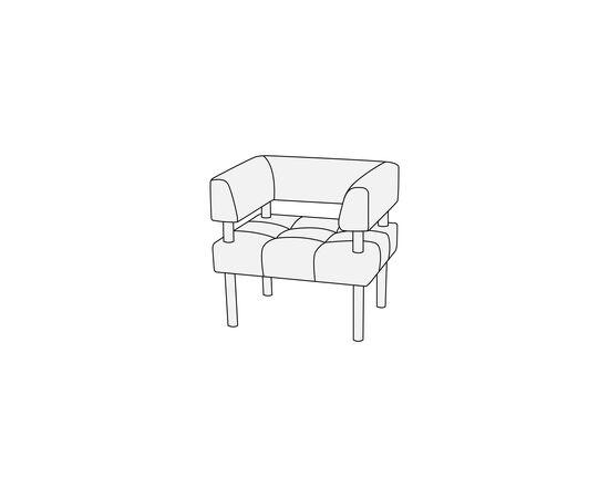 Кресло Спринт 780х630х780 Экокожа Alfa, Цвет товара: Oregon 09, изображение 2