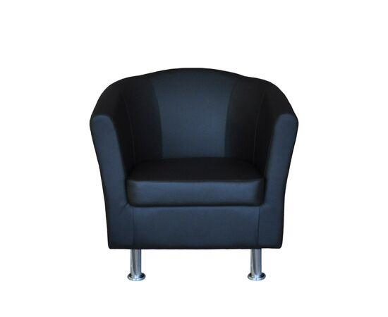 Кресло Эллипс 790х750х830 Кожа Alfa, Цвет товара: 1061, изображение 3
