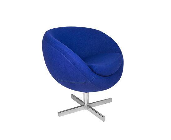 Дизайнерское кресло A686 (реплика PLANET6) синее Beonmebel