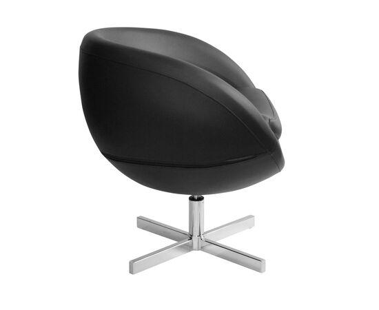 Дизайнерское кресло из экокожи A686 черное Beonmebel, Цвет товара: Черный, изображение 3