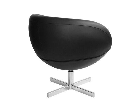 Дизайнерское кресло из экокожи A686 черное Beonmebel, Цвет товара: Черный, изображение 4