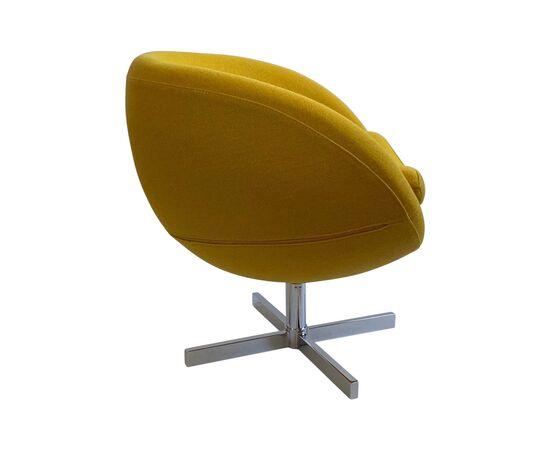 Дизайнерское кресло A686 желтое Beonmebel, Цвет товара: Желтый, изображение 3