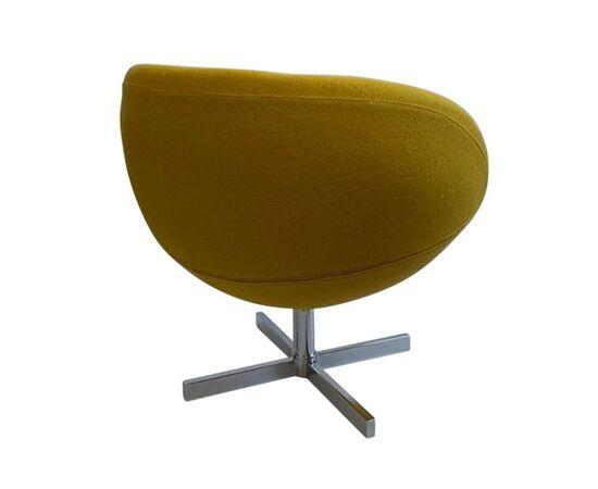 Дизайнерское кресло A686 желтое Beonmebel, Цвет товара: Желтый, изображение 4