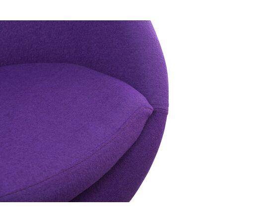 Дизайнерское кресло A686 фиолетовое Beonmebel, Цвет товара: Фиолетовый, изображение 3