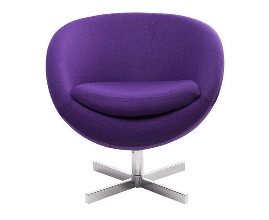Дизайнерское кресло A686 фиолетовое Beonmebel, Цвет товара: Фиолетовый, изображение 2