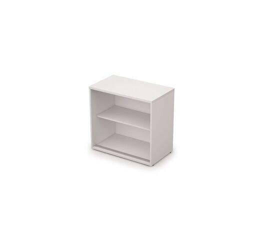 Шкаф-купе для документов низкий AVANCE 6ШК.017 Белый 800х400х750 (без замка), Цвет товара: Белый, изображение 2