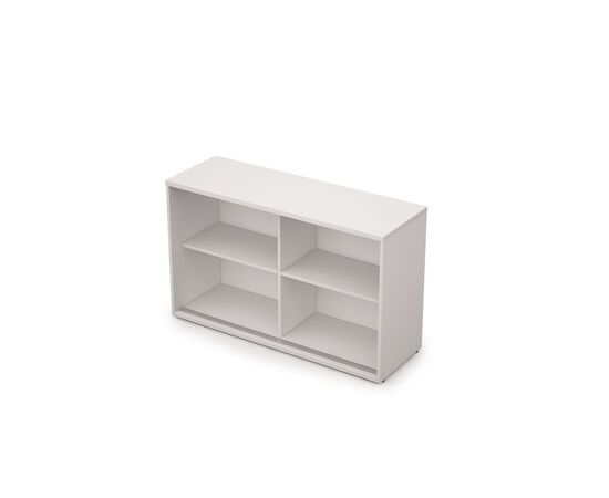 Шкаф-купе для документов низкий средний AVANCE 6ШК.011 Белый 1235х400х750 (без замка), Цвет товара: Белый, изображение 2