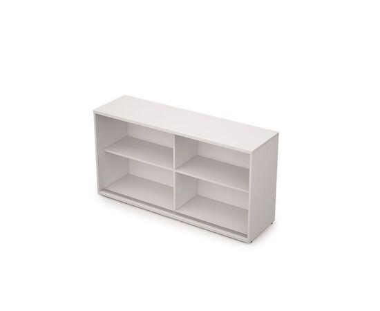 Шкаф-купе для документов низкий удлиненный AVANCE 6ШК.012 Белый 1435х400х750 (без замка), Цвет товара: Белый, изображение 2