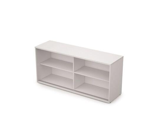 Шкаф-купе для документов низкий длинный без замка AVANCE ALSAV 6ШК.018 Белый 1635х400х750, Цвет товара: Белый, изображение 2