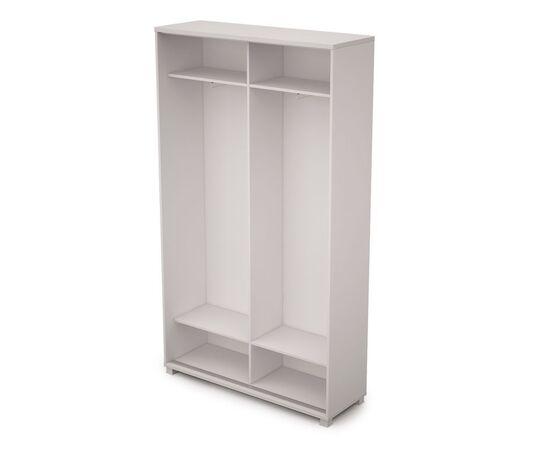 Шкаф-купе для одежды высокий (без замка) AVANCE ALSAV 6ШК.016 Белый 1200х400х2116, Цвет товара: Белый, изображение 2