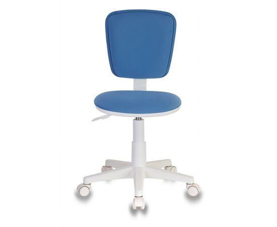 Компьютерное кресло детское Бюрократ CH-W204NX/26-24 голубой 26-24 (пластик белый), Цвет товара: Голубой, изображение 2