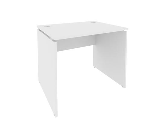 Стол прямой письменный STYLE Л.СП-1 Белый 900х720х750, Цвет товара: Белый, изображение 2
