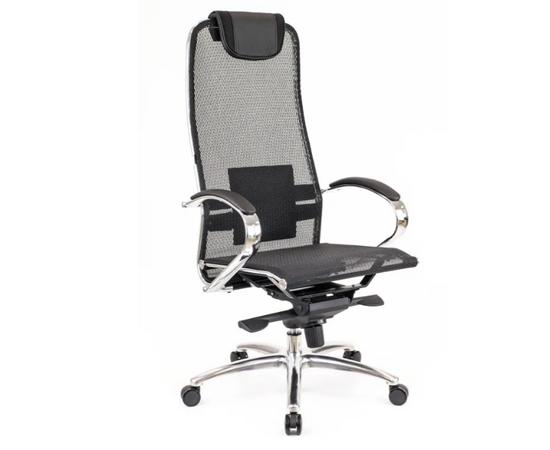 Компьютерное кресло для руководителя Everprof Deco Сетка Черный, Цвет товара: Черный