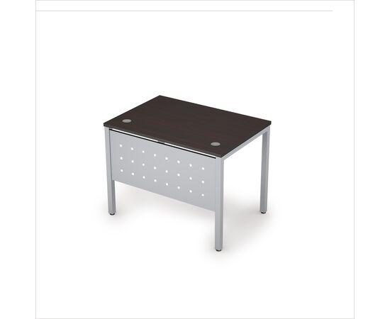 Стол прямой письменный на металлокаркасе AVANCE (сечение опоры 40*40) 6МК.007 Венге (с металлической царгой ) 1000х700х750