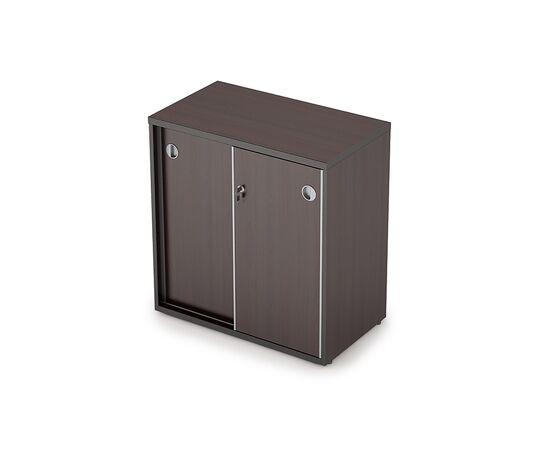Шкаф-купе для документов низкий с замком AVANCE 6ШКЗ.010 Венге 700х400х750, Цвет товара: Венге
