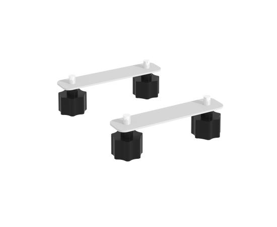 Соединительные элементы стола складного мобильного СЭ 130х30х3 Белый