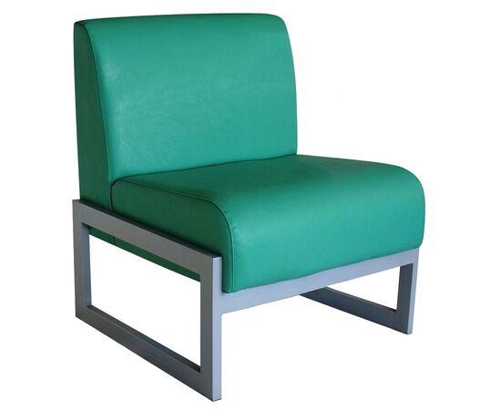 Кресло Сигма 660х690х780 Экокожа/Каркас серый матовый Alfa, Цвет товара: Oregon 19