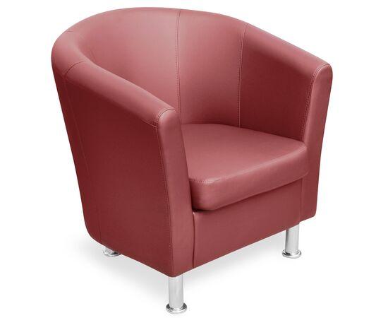 Кресло Эллипс 790х750х830 Кожа Alfa, Цвет товара: 1061