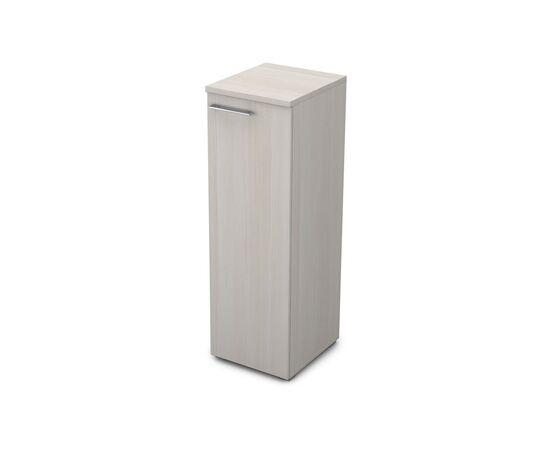 Шкаф для документов узкий средний правый GLOSS LINE ALSAV 9НП.017.1 IVORY 400*450*1245, Цвет товара: Ivory