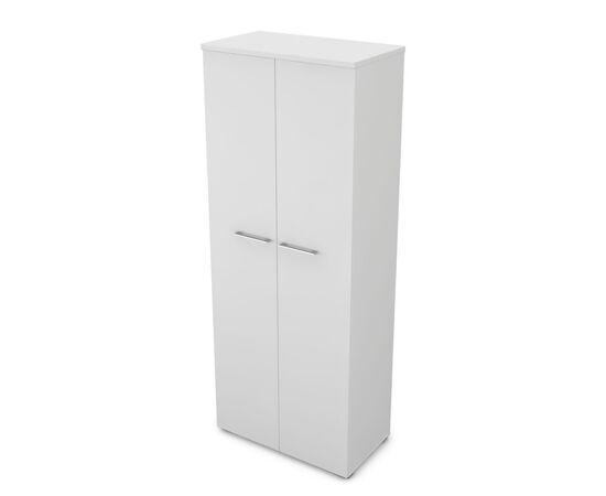 Шкаф для документов высокий GLOSS LINE ALSAV 9НШ.005.1 БЕЛЫЙ ПРЕМИУМ 800*450*2045, Цвет товара: Белый премиум