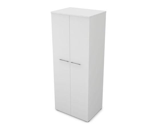 Шкаф для одежды глубокий GLOSS LINE ALSAV 9НШ.011.1 БЕЛЫЙ ПРЕМИУМ 800*600*2045, Цвет товара: Белый премиум