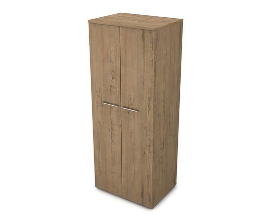 Шкаф для одежды глубокий GLOSS LINE ALSAV 9НШ.011.1 TEAKWOOD 800*600*2045, Цвет товара: TeakWood