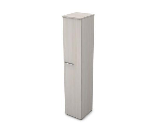 Шкаф для документов узкий высокий GLOSS LINE ALSAV 9НП.005.1 IVORY 400*450*2045, Цвет товара: Ivory