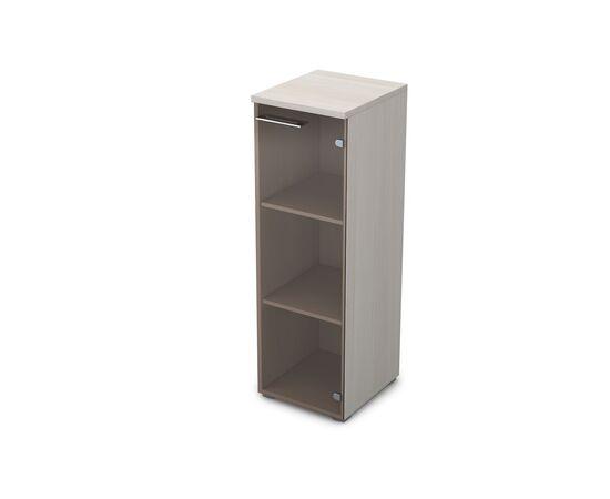Шкаф для документов узкий средний правый GLOSS LINE ALSAV 9НП.017.3 IVORY 400*450*1245, Цвет товара: Ivory