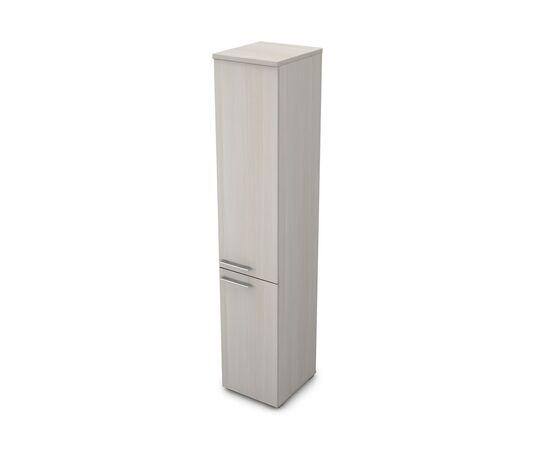 Шкаф для документов узкий высокий GLOSS LINE ALSAV 9НП.005.5 IVORY 400*450*2045, Цвет товара: Ivory