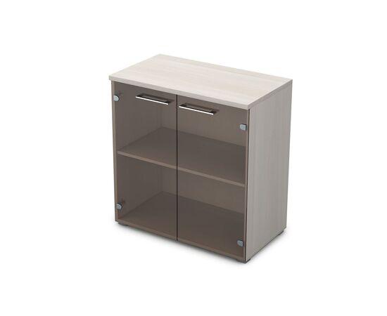 Шкаф для документов низкий GLOSS LINE ALSAV 9НШ.023.2 IVORY 800*450*845, Цвет товара: Ivory