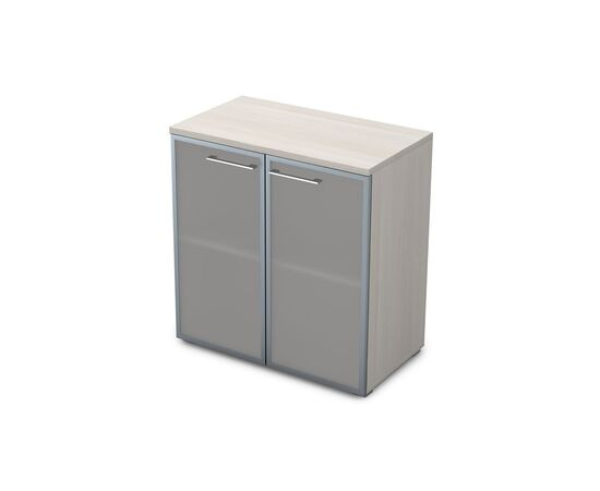 Шкаф для документов низкий GLOSS LINE ALSAV 9НШ.023.3 IVORY 800*450*845, Цвет товара: Ivory