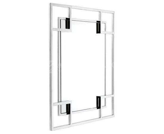 Зеркало настенное в металлической раме Hi-Tech (Хайтэк) Art-zerkalo