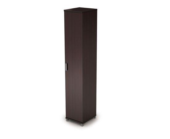 Шкаф для документов узкий закрытый AVANCE 6П.005.1 Венге 400х450х2116, Цвет товара: Венге