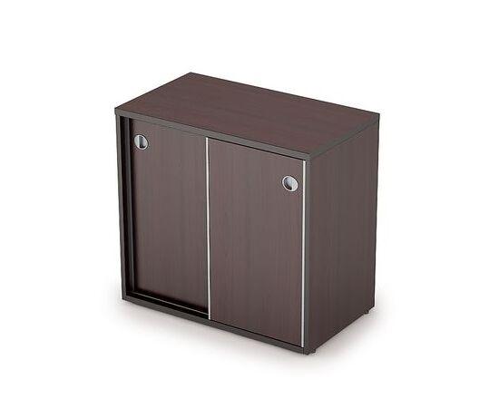 Шкаф-купе для документов низкий AVANCE 6ШК.017 Венге 800х400х750 (без замка), Цвет товара: Венге
