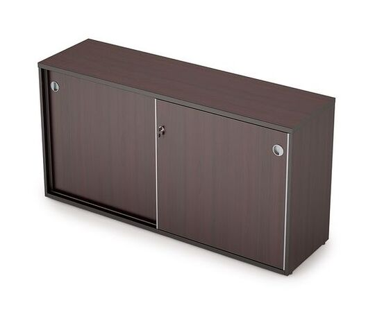 Шкаф-купе для документов низкий удлиненный AVANCE 6ШКЗ.012 Венге 1435х400х750 (с замком ), Цвет товара: Венге